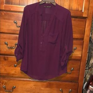 BUNDLE&SAVE! Dark purple tunic